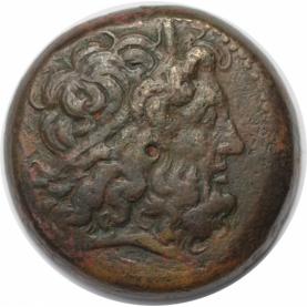 Bronze 221-205 v. Chr avers