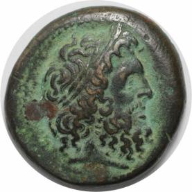 Æ 27 285-246 v. Chr avers