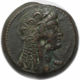 Æ 28 204-180 v.Chr  avers
