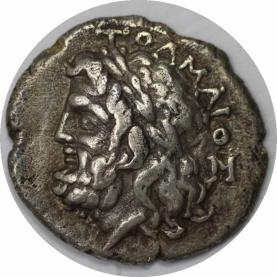 Drachme 360 - 350 v. Chr avers