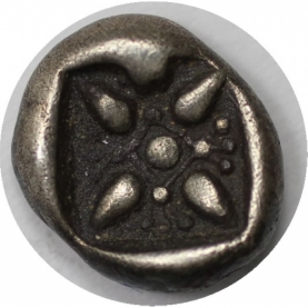 AR Diobol 478 - 390 v. Chr revers