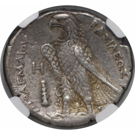 AR Tetradrachme 285/4-246 v. Chr revers