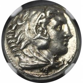AR-Tetradrachm 336 - 323 v. Chr avers