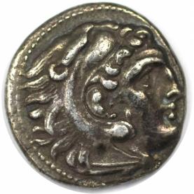 Drachme 336 - 323 v. Chr avers