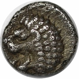 Hemiobol 395 - 353 v. Chr avers