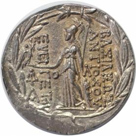 AR Tetradrachme 139/129 v. Chr revers