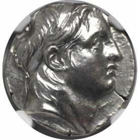 AR Drachme 162-150 v. Chr avers