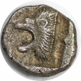 AR Diobol 480 - 400 v. Chr revers