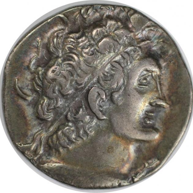 Tetradrachme 111 - 112 v. Chr avers