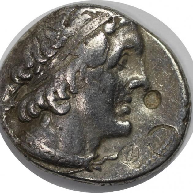 AR Tetradrachme 285-246 v.Chr. avers