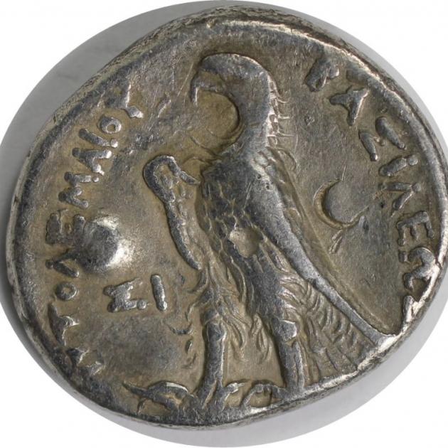AR Tetradrachme 285-246 v.Chr. revers