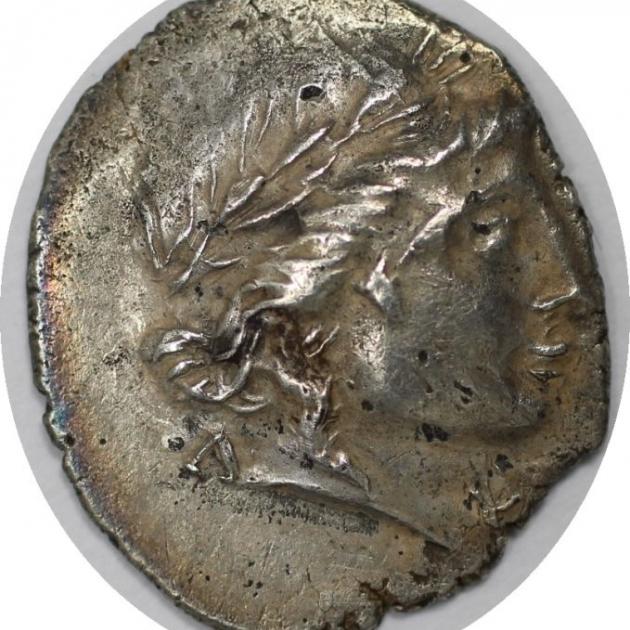 Drachme 100-88 v. Chr avers