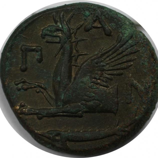 AE 314 - 310 v. Chr revers