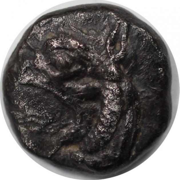 AR Diobol 521-478 v. Chr avers