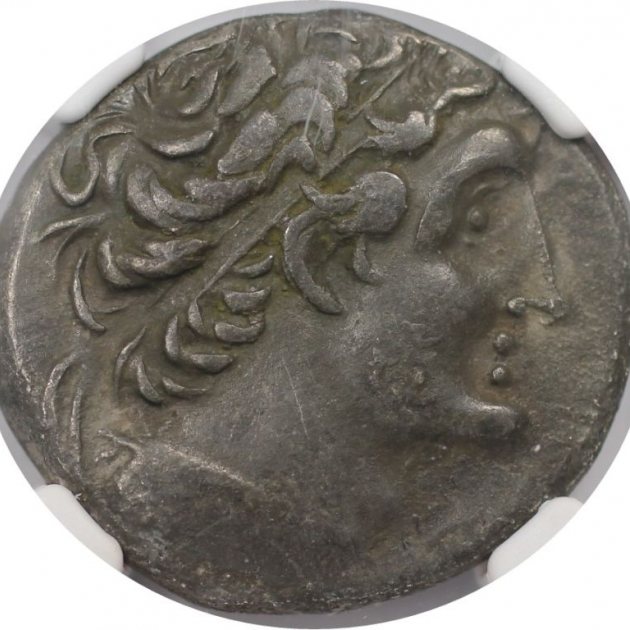 AR Tetradrachme  81 / 0 v. Chr avers