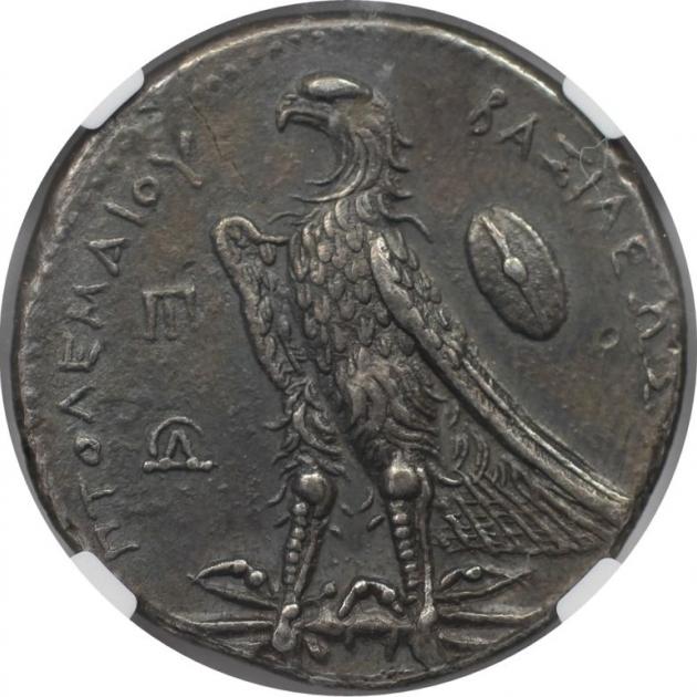 AR Tetradrachme 285 / 4-246 v. Chr revers