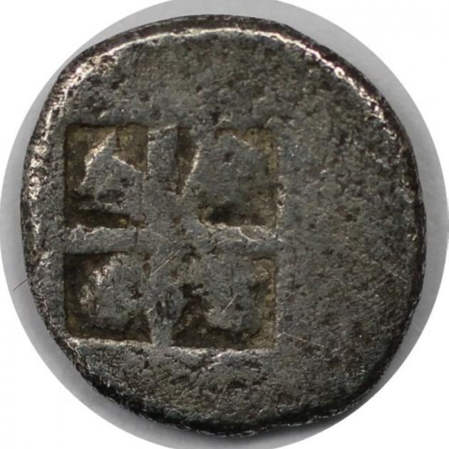 Hemiobol 500 - 480 v. Chr revers