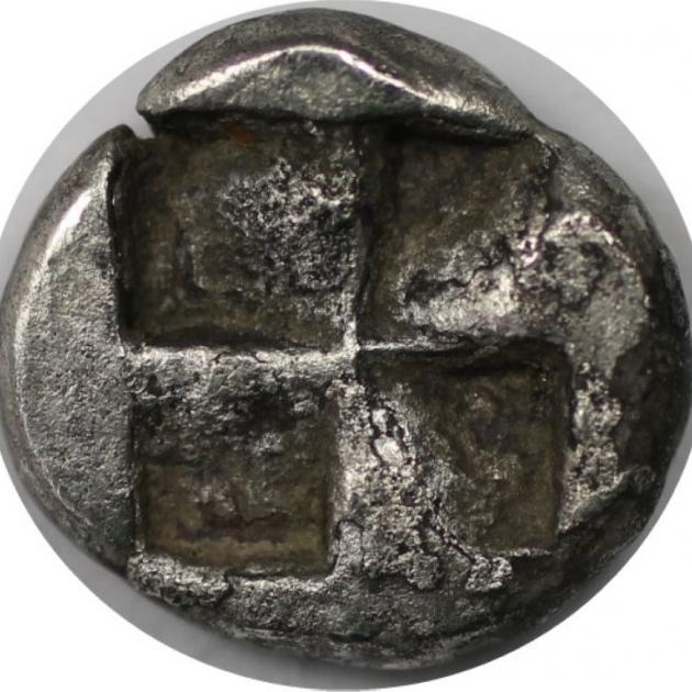 Trihemiobol 480 v. Chr revers