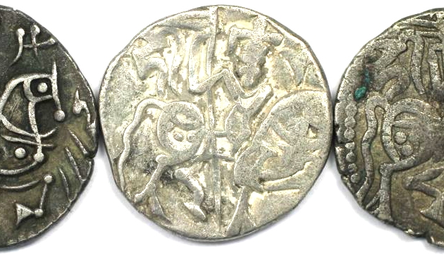 Lot von 3 Münzen 903 - 915 n. Chr avers