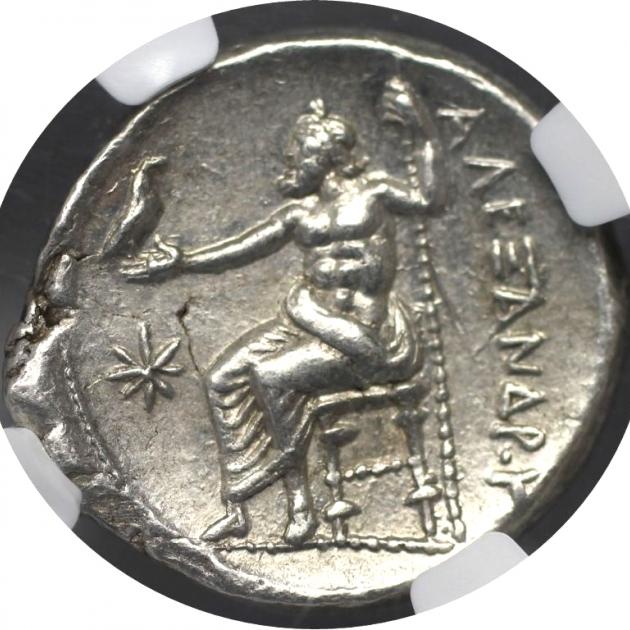 AR-Tetradrachm 336 - 323 v. Chr revers