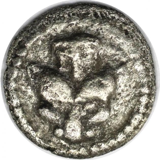 Obol 480 v. Chr avers
