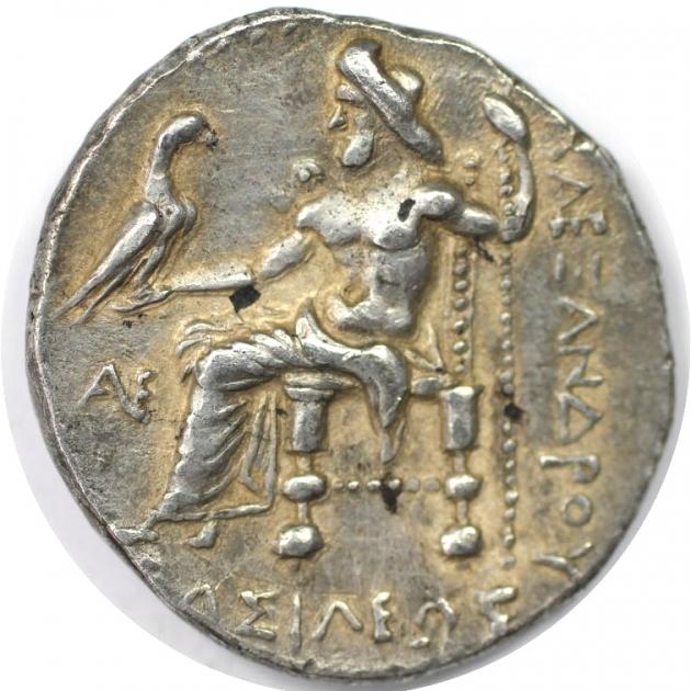 Tetradrachme 323 - 317 v. Chr revers