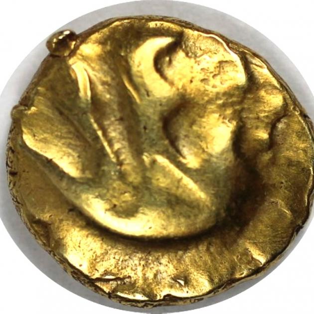 AV 1/4 Stater 60/25 v. Chr avers
