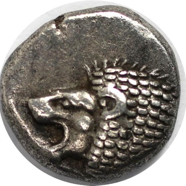 AR 1/12 Stater 525-500 v.Chr. avers