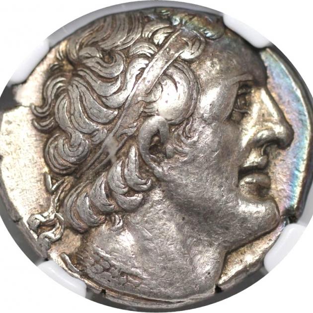 AR Tetradrachme 285/4-246 v. Chr avers