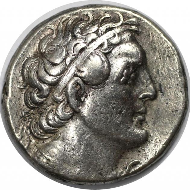 AR Tetradrachme 323-246 n. Chr avers