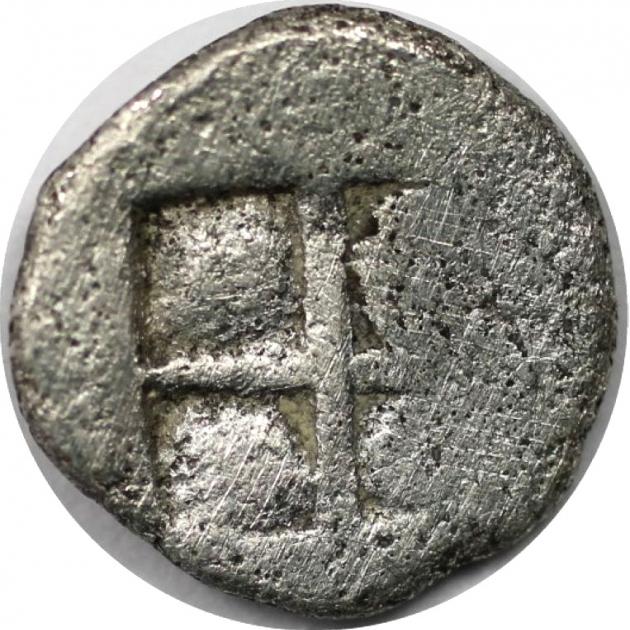 Obol 480 v. Chr revers