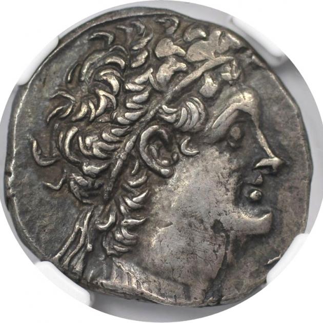 AR Tetradrachme 110 / 9 v. Chr avers