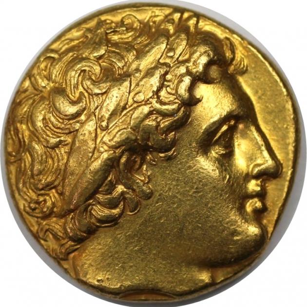 AV Stater 323 - 317 v. Chr avers