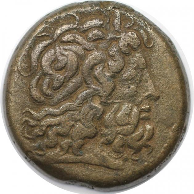 Bronze 221 - 205 v. Chr avers